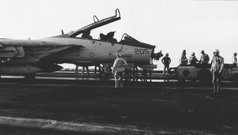 How F-14 Tomcat pilot with missing radome made an emergency landing 1