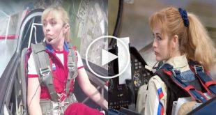 Top 5 Female aerobatic pilot amazing Flying Display