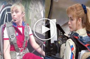 Top 5 Female aerobatic pilot amazing Flying Display