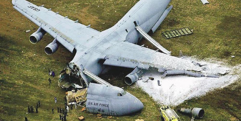 C-5 Galaxy crash