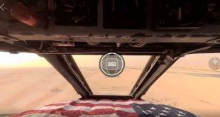 B-52 Stratofortress 360° VR cockpit view landing