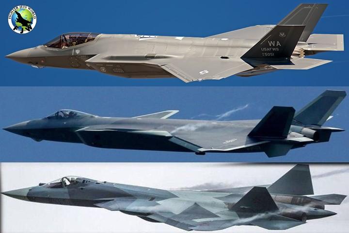 F-35 vs Su-57 vs J-20