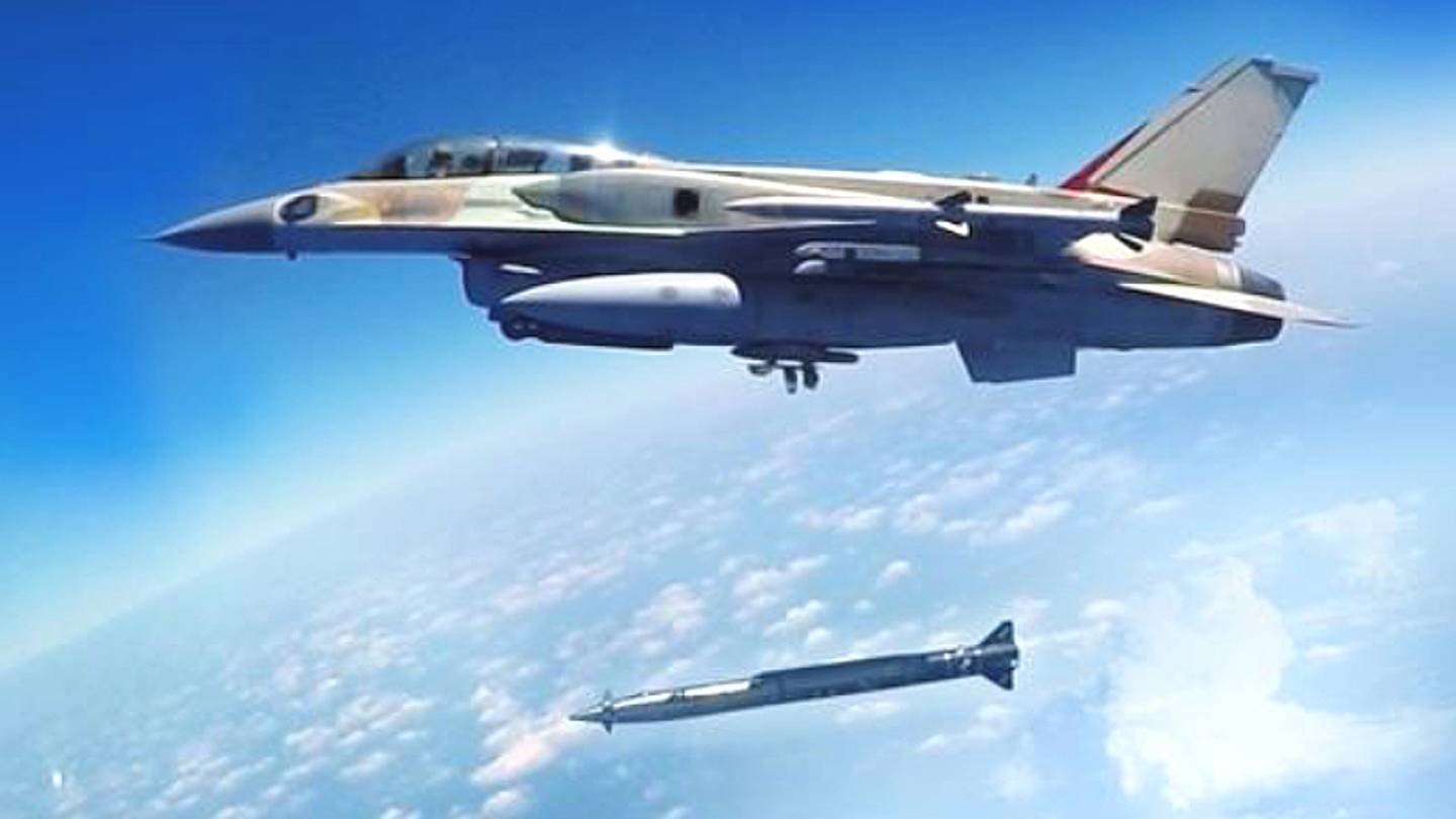 Israel Turns Artillery Rocket Into Supersonic 'Rampage' Air-Launched Stand-Off Weapon