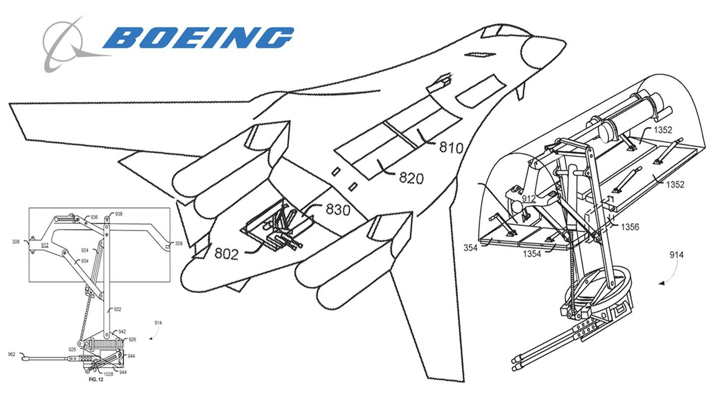 Boeing's will Turn The B-1B Into A Gunship Bristling With