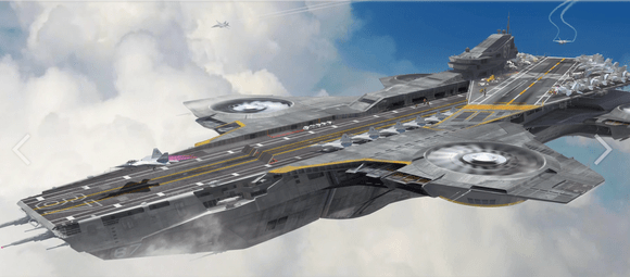 Flying Aircraft carrier concept