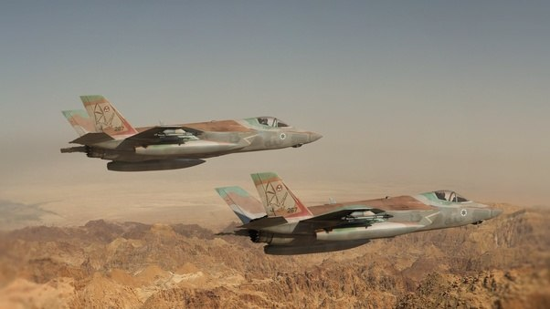 Two israel F-35I Adir
