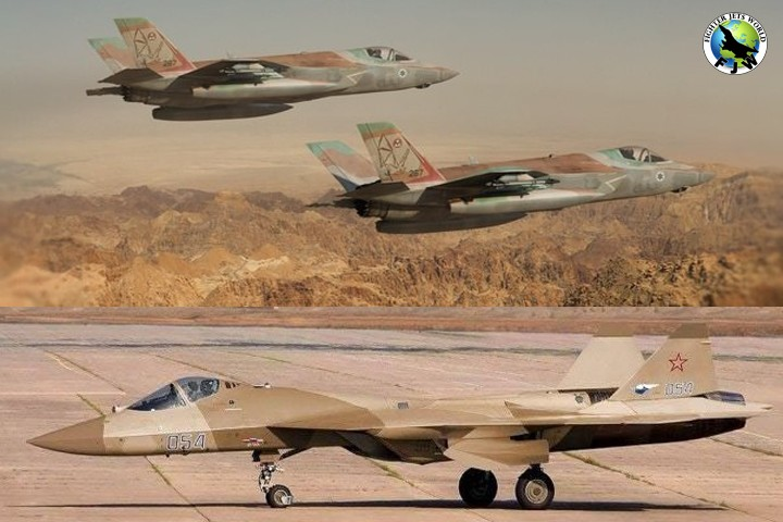Su 57 Intercepted F35 over Syria or Did It? Claims and Counter-claims