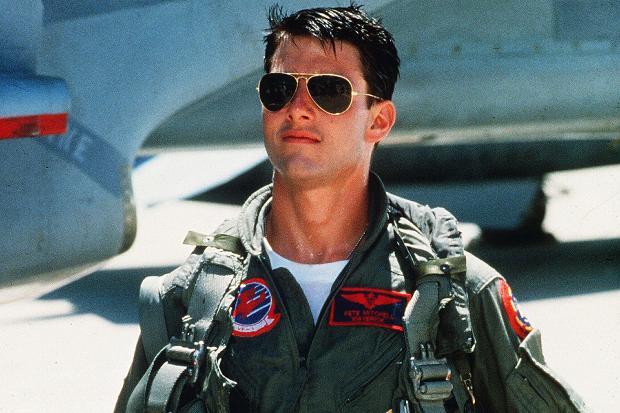 Top Gun sequel filming underway - Maverick With his FA-18 Super Hornet 1