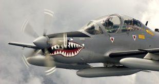 A-29 Super Tucano Crashed