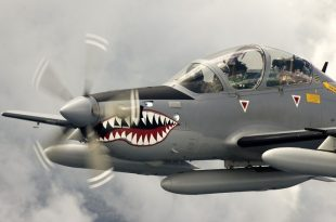A-29 Super Tucano Crashed