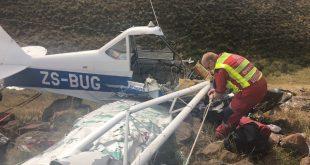 Light aircraft crashed in KZN midlands