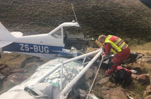 Light aircraft crashed in KZN midlands