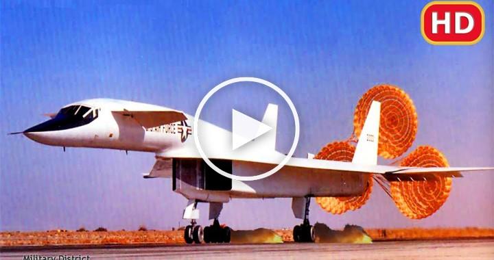 XB-70 Valkyrie Emergency landing 2