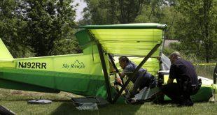 Aeros Skyranger crash west of Huron County Memorial Airport, Pilot Dead