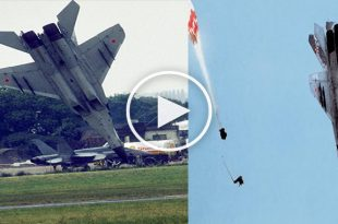 Mig-29 Crash 1989 Paris Airshow -Pilot Ejected Two Seconds Before Crash