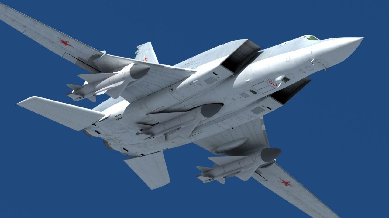 "Russia to Equip Tu-22M3 Backfire Bomber with New Hypersonic "" Kinzhal "" missile 2"