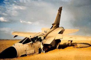 Saudi Air Force Tornado jet Crashes in southern Asir region