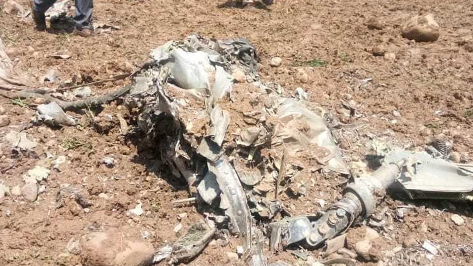 IAF MiG 21 fighter jet crashes in in Himachal's Kangra,Pilot Killed