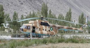 Helicopter crash-lands at Peshawar's Bacha Khan airport