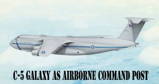 C-5 Galaxy As Airborne Command Post