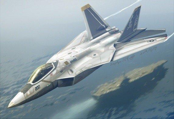 Carrier borne F-22