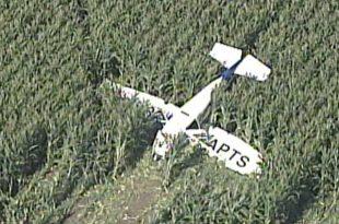 Cessna 172 small plane crash in Jackson County