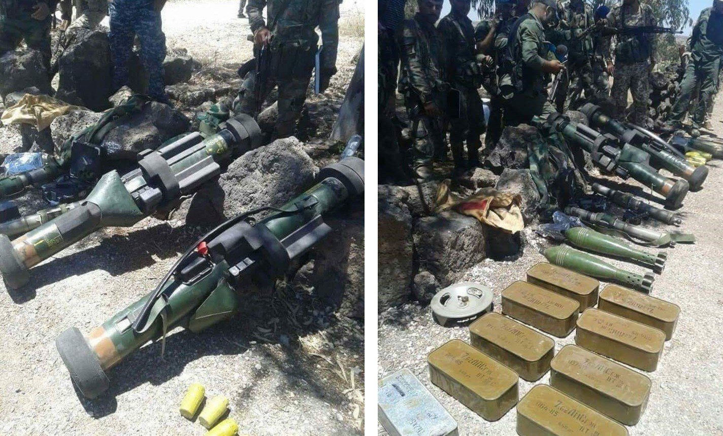 Syrian Army managed seized French-made APILAS anti-tank systems