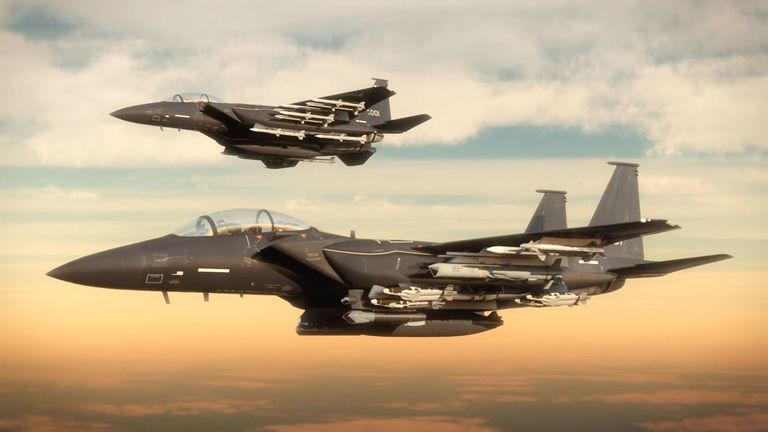Boeing pitches New F-15X: The Eagle that can carry more Than 24 air-to-air missiles