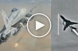 Cockpit Video Of F-18 Hornet Two MiG-21 Air to Air Kills Then Go Bomb Targets in Iraq