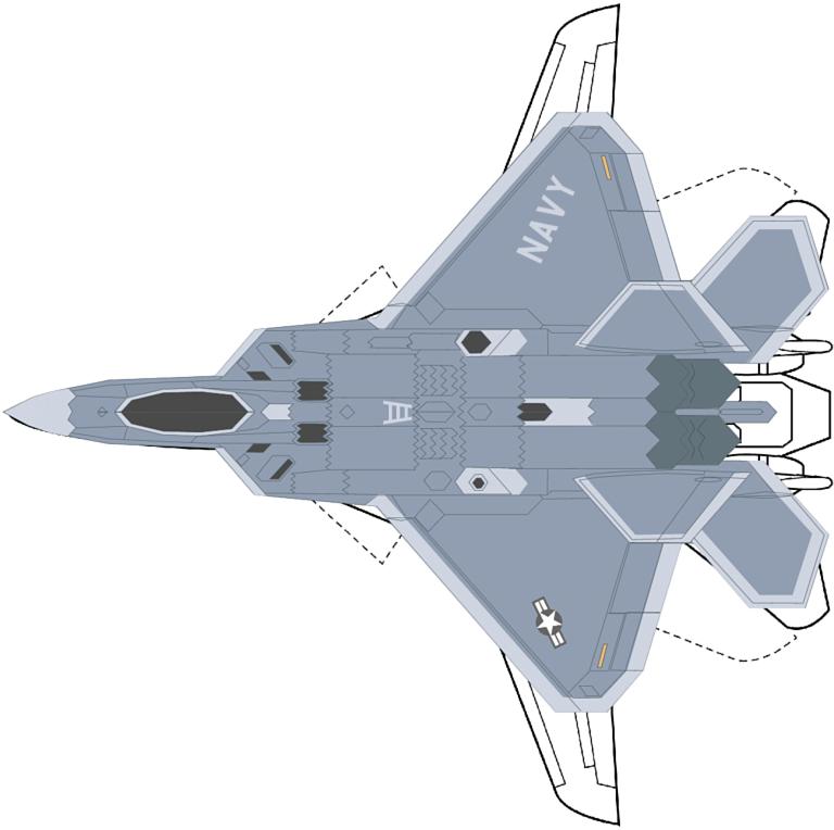 Size Comparison of F/A-22N Sea Raptor and F-14A Tomcat (NASA/C. Kopp)