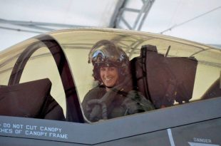 Lt. Col. Christine Mau: The First Female F-35 Pilot