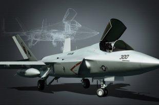 F-36 Sterik Stealth-Fighter jet