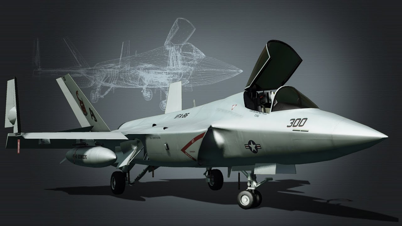 F-36 Sterik Stealth-Fighter jet