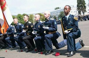 Algerian officers graduated from the Air Defense Institute of Russia