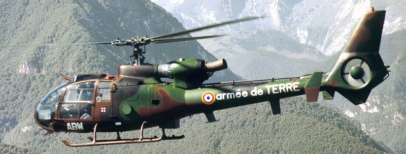 French soldier killed, another wounded in a military helicopter crash