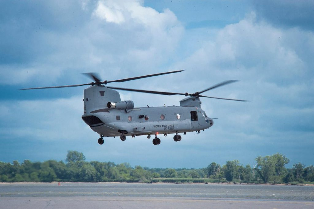 India CH-47F Chinook