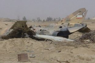 Iranian F-4 fighter jet crashes in Chabahar