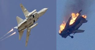 Israel shoots down Syrian Air force SU-22/24 Fighter jet by using Patriot missiles