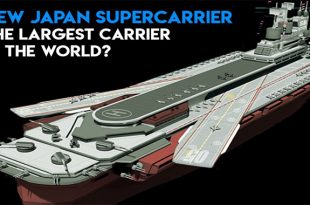 Japan Building New Aircraft carrier- More advanced than the UK or US supercarrier?
