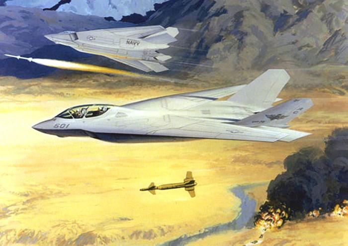 Carrier borne F-22 a