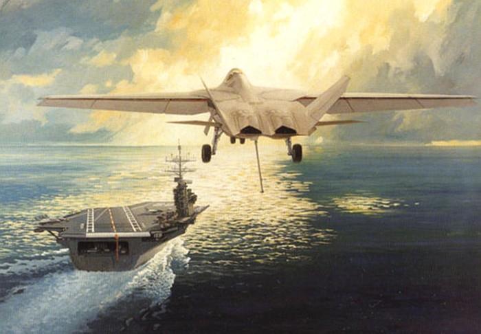 Carrier borne F-22 n