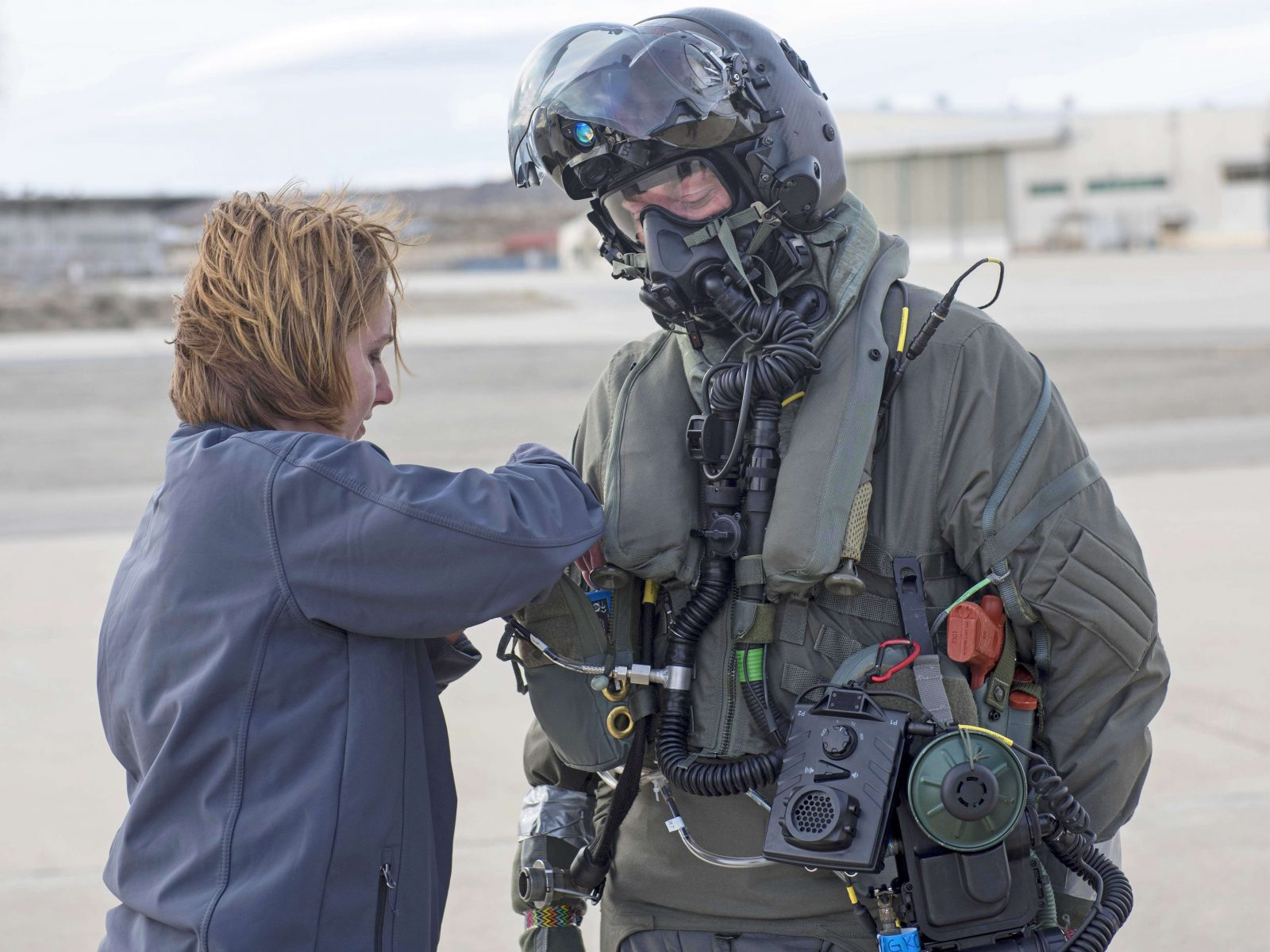 New F-35 Pilots Dress For Chemical and Biological Warfare 2