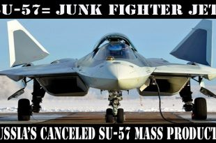 Russia's canceling mass production of Su-57 stealth fighter jet