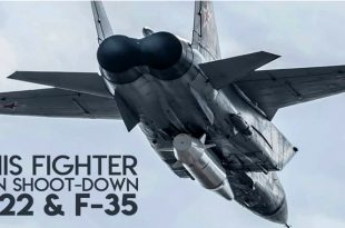 Russian Jet that can Shoot Down an F-22, F-35 or B-2 Stealth