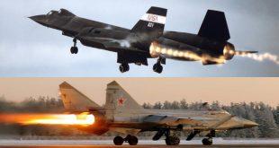 SR-71 vs MiG-31- When Foxhound intercepted Blackbird