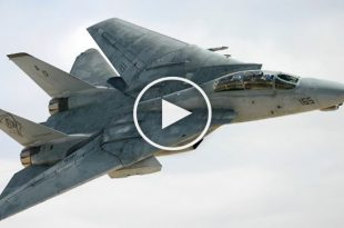 Video of F-14 Tomcat Spin Out of Control