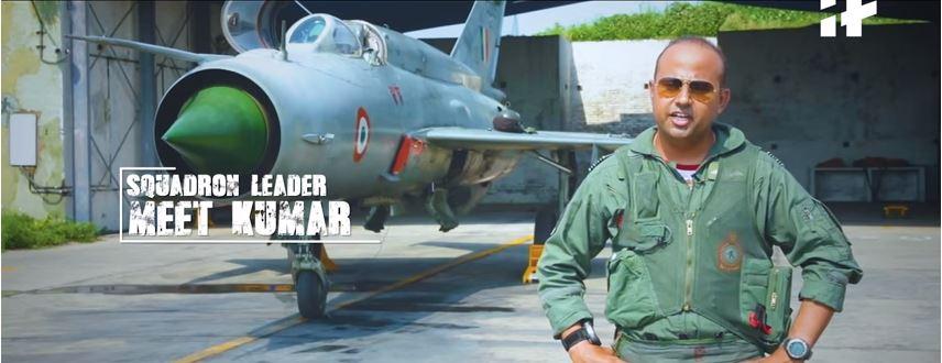 Squadron Leader Meet Kumar