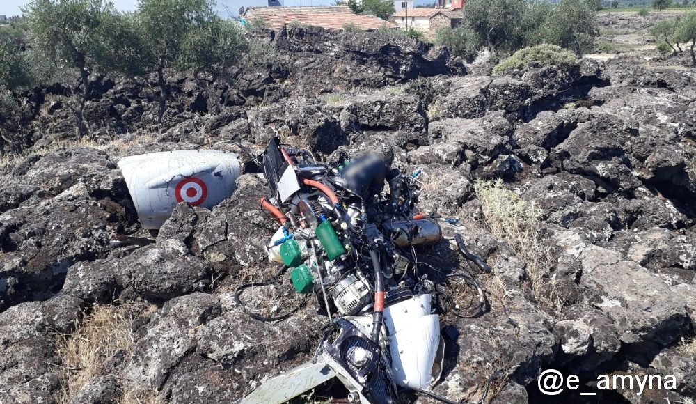 Turkish Air Force Bayraktar TB-2S armed drone crashed in Hatay province 2