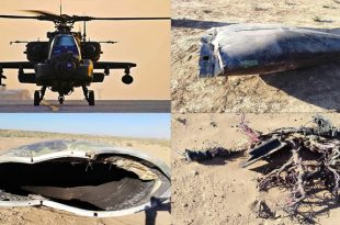 Unidentified military plane crashes in Syria- Local Media calming its Apache Heli