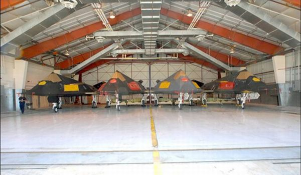 F-117 Aircraft in Type 1000